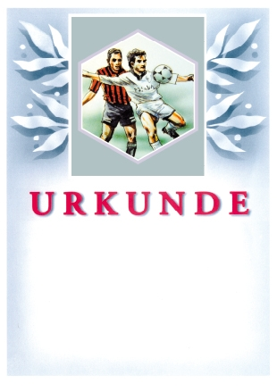Sport Urkunde 63