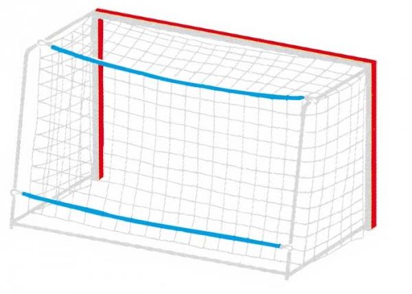 Gummi-Spannleinen für Handballtornetze