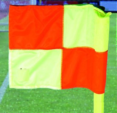 Fahne für Grenzstangen bis 50mm Durchmesser Poly.
