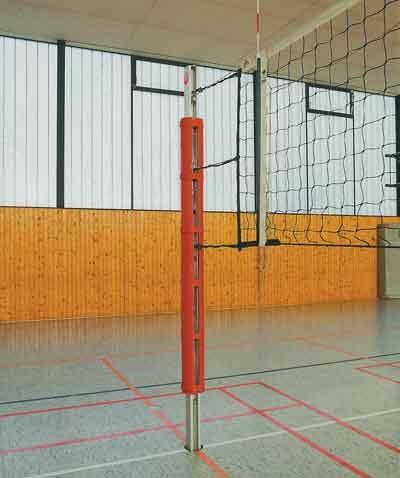 Säulenschutzpolster für Volleyballpfosten