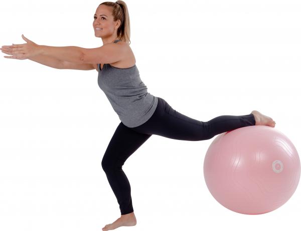 Yoga Sitzball rosa