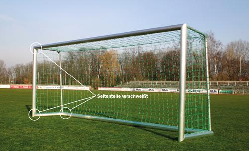 Jugend-Fußballtore STANDARD, 5 x 2m, mobil, eckverschweißt, 4- teilig