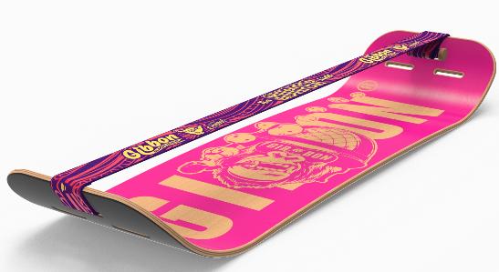 Giboard Pink mit Surferline