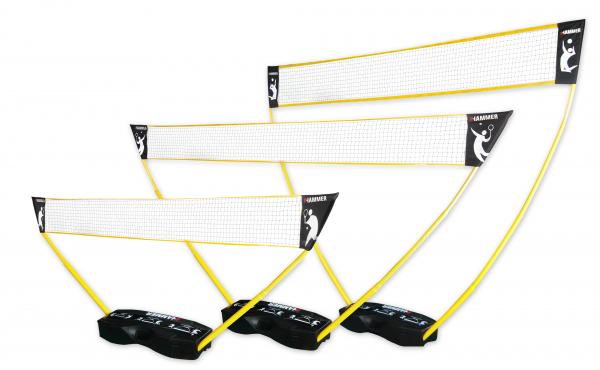 Mobile Netz für Tennis,Badminton, Federball und Volleyball