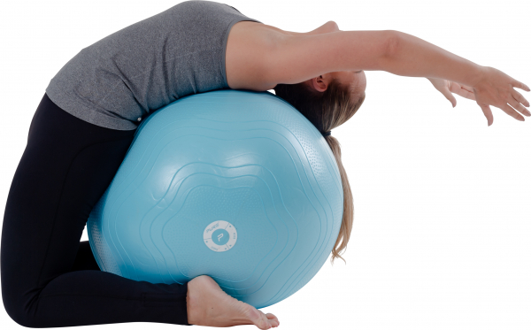 Yoga Sitzball blau