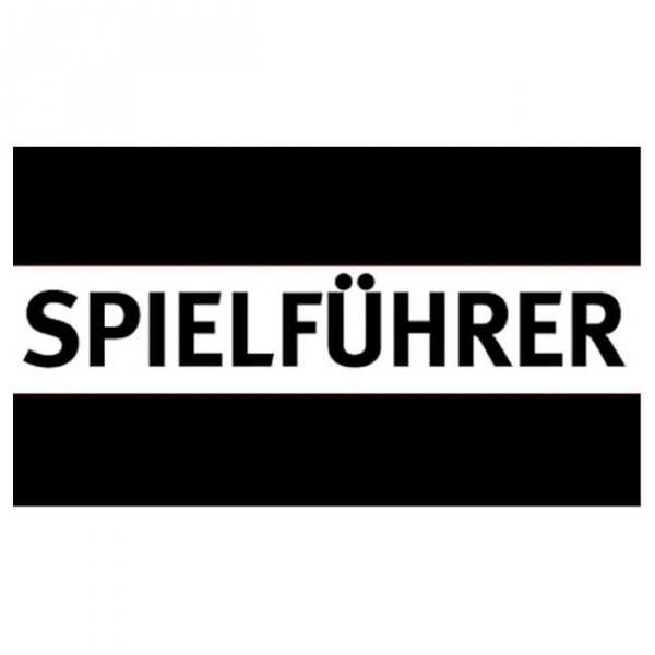 Spielführer-Armbinden - schwarz/weiß