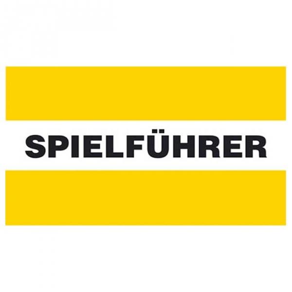 Spielführer-Armbinden - gelb/weiß