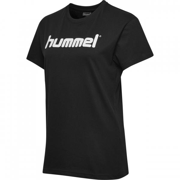 Hummel GO COTTON LOGO T-SHIRT WOMAN S/S