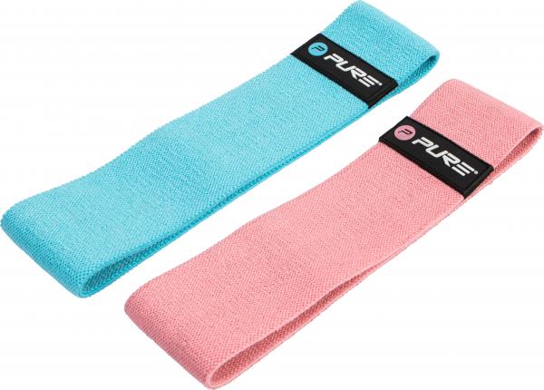 Fitnessband blau und rosa